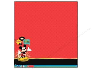 EK Paper 12x12 Disney Mickey Mouse Glit Therm (12 piece)