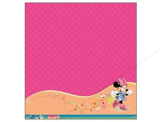 EK Paper 12x12 Disney Minnie Mouse Glitter Therm (12 piece)