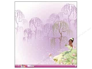 "Licensed Products Spring: EK Paper 12""x 12"" Bulk Disney Princess Tiana Glitter (12 pieces)"