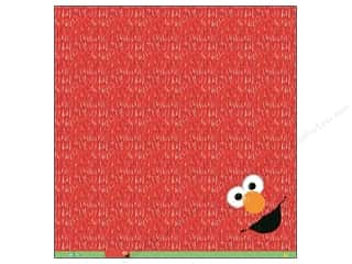 "Licensed Products EK Paper 12x12: EK Paper 12""x 12"" Bulk Sesame Elmo Furry (25 pieces)"