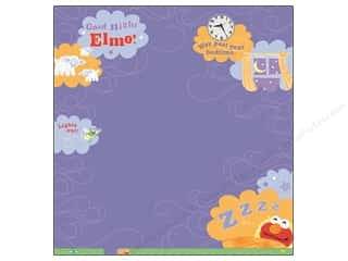 EK Paper 12x12 Sesame Elmo Goodnight Therm (12 piece)