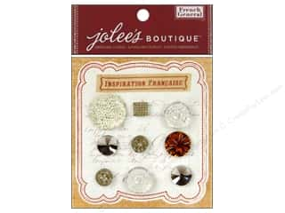 Jolee's Boutique French General Buttons And Baubles Gemstone