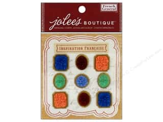 Jolee's Boutique French General Flowers Matte Resin