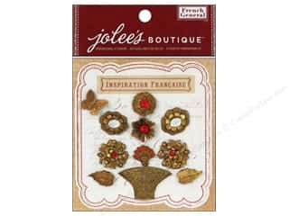 Jolee's Boutique French General Bouquet Metal with Gems