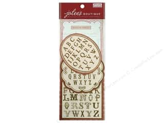 Generations Clearance Crafts: Jolee's Boutique French General Alphabet Pack