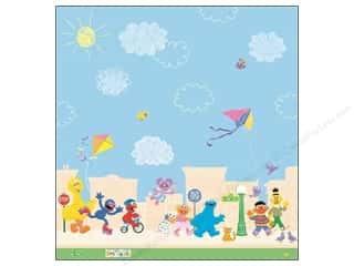 "Licensed Products EK Paper 12x12: EK Paper 12""x 12"" Bulk Sesame Street Scene (25 pieces)"