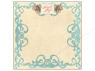 Flowers K&Company 12 x 12 in. Paper: K&Company Paper 12x12 Merryweather Small Joys (25 pieces)