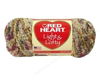 Red Heart Light &amp; Lofty Yarn Cape Cod Multi 4.5 oz.