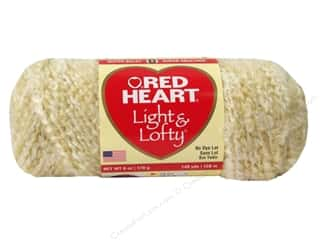 Red Heart Light & Lofty Yarn Cafe Au Lait 6 oz.