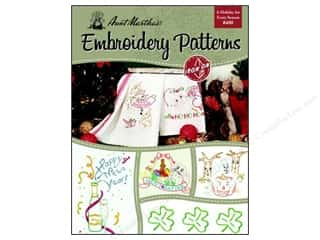 needlework book: Embroidery Transfer Holiday For Every Season Book