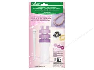Weekly Specials Bates Crystalites Knitting Needles: Clover Bead Jewelry Maker French Knitter