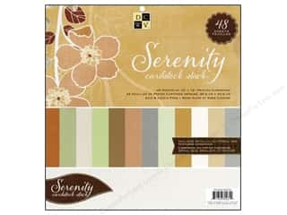 Die Cuts With A View 12 x 12 in. Cardstock Stack Serenity