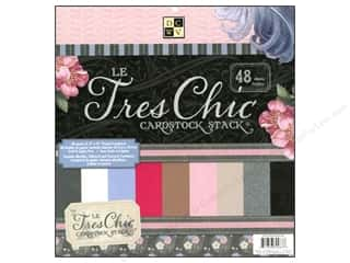 DieCuts Cardstock Stack 12 x 12 in. Le Tres Chic