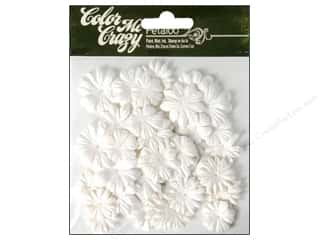 Floral Arranging Scrapbooking & Paper Crafts: Petaloo Color Me Crazy Value Pack Mini Layers 48pc