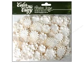Scrapbooking Flowers: Petaloo Color Me Crazy Value Pack Delphiniums Mini 280pc