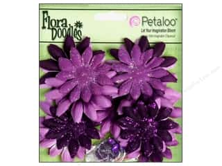 Flowers / Blossoms Petaloo FloraDoodles: Petaloo FloraDoodles Daisy Layers Small Plum
