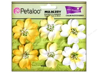 Petaloo Coredinations CM Camelia Tulip Yellow 6pc