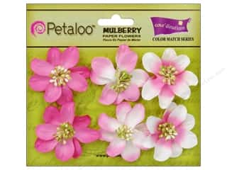 Flowers / Blossoms $6 - $22: Petaloo Coredinations Color Match Camelia In The Pink 6pc