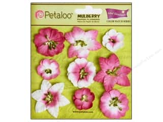 Clearance Petaloo Coredinations Color Match: Petaloo Coredinations CM Mini Floral Love Potn 9pc