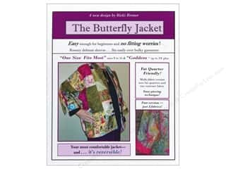 Bosal Fat Quarter / Jelly Roll / Charm / Cake Patterns: Tall Mouse Butterfly Jacket Pattern