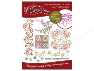 Stitchers Revolution Flowers: Stitcher's Revolution Iron On Transfer Modern Linens