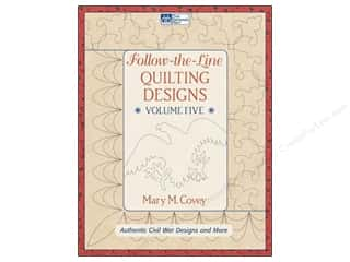 Clearance Jack Dempsey Decorative Hand Towel: Follow The Line Quilting Designs Vol 5 Book