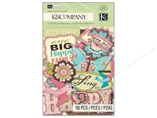 K&amp;Co Die Cut Cdstk KP Blossom