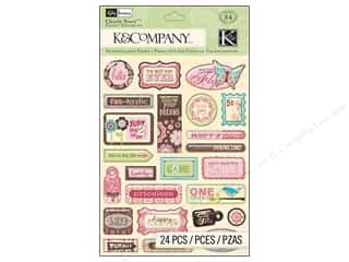 K&Co Sticker Clearly Yours KP Blossom Word