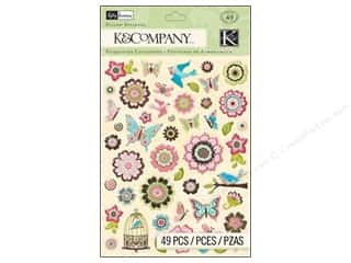 K&amp;Co Sticker Pillow KP Blossom