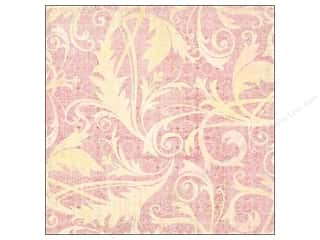 cardstock Iridescent: K&Company Paper 12x12 Kelly Panacci Blossom Thermography Flourish Glitter (12 pieces)