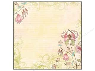 K&amp;Co Paper 12x12 KP Blossom Glitter Floral (12 piece)