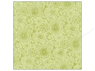 Kelly's Flowers: K&Company Paper 12x12 Kelly Panacci Blossom Green Garden (25 pieces)