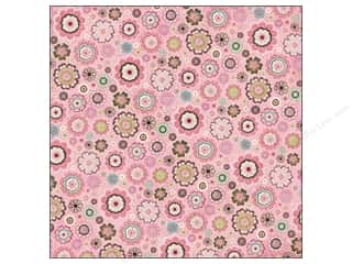 K&amp;Co Paper 12x12 KP Blossom Flowers Pink (25 piece)