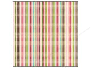 Kelly's K&Company 12 x 12 in. Paper: K&Company Paper 12x12 Kelly Panacci Blossom Plaid (25 pieces)