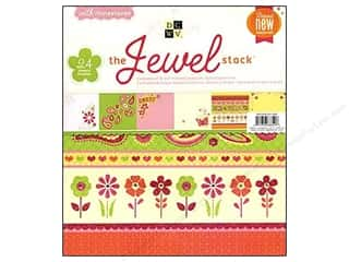 Die Cuts Paper Stack 12 x 12 in. Jewel