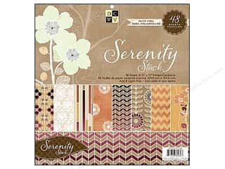 2013 Crafties - Best Scrapbooking Supply DieCuts Paper Stacks: DieCuts 12 x 12 in. Paper Stack Serenity