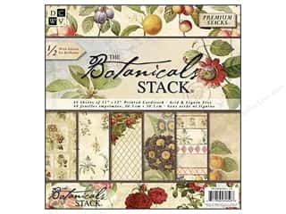 2013 Crafties - Best Scrapbooking Supply DieCuts Paper Stacks: DieCuts 12 x 12 in. Paper Stack Botanicals