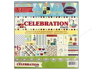 DieCuts 12 x 12 in. Paper Stack Celebration