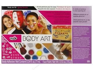 2013 Crafties - Best Adhesive: Tulip Body Art Kit Paint & Glitter Sports Fanatic