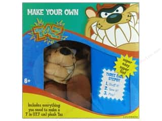 Colorbok Sewing Kits: Colorbok Make Your Own Looney Tunes Taz