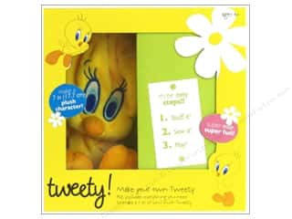 Sewing Construction: Colorbok Make Your Own Looney Tunes Tweety