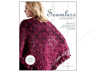 DVD Video Clearance Books: Interweave Press Seamless Crochet Book