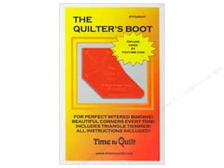 Time To Quilt Ruler The Quilter's Boot