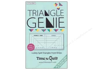 Time To Quilt Ruler Triangle Genie