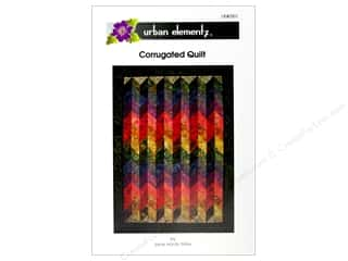 Corrugated Quilt Pattern