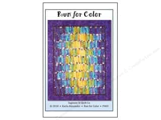 Miss Rosie's Quilt Company: Run For Color Pattern