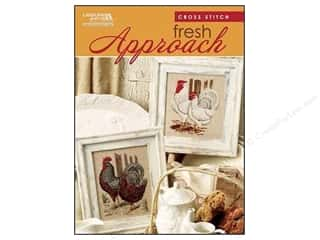 DMC Books & Patterns: Leisure Arts Cross Stitch Fresh Approach Pattern