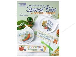 Stitchery, Embroidery, Cross Stitch & Needlepoint Books & Patterns: Leisure Arts Cross Stitch Special Bibs For Special Babies Pattern