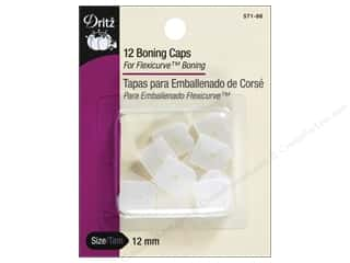 Boning / Stays: Boning Caps by Dritz White 12pc