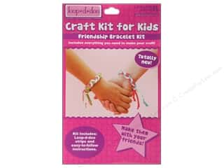 Leisure Arts Gifts: Leisure Arts Kit Loop-D-Doo Friendship Bracelet